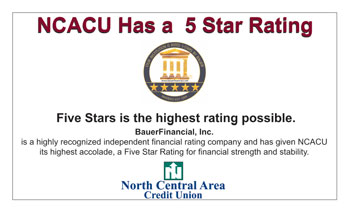 NCACU - Bauer 5-Star Rating