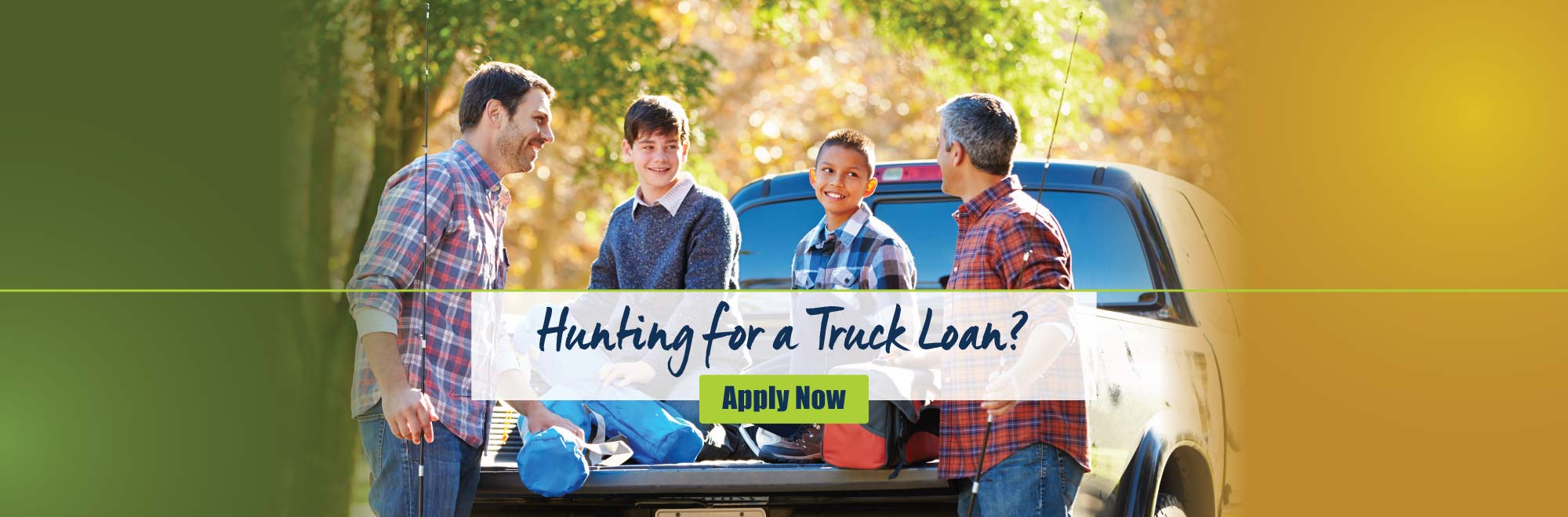 Hunting for a truck loan?